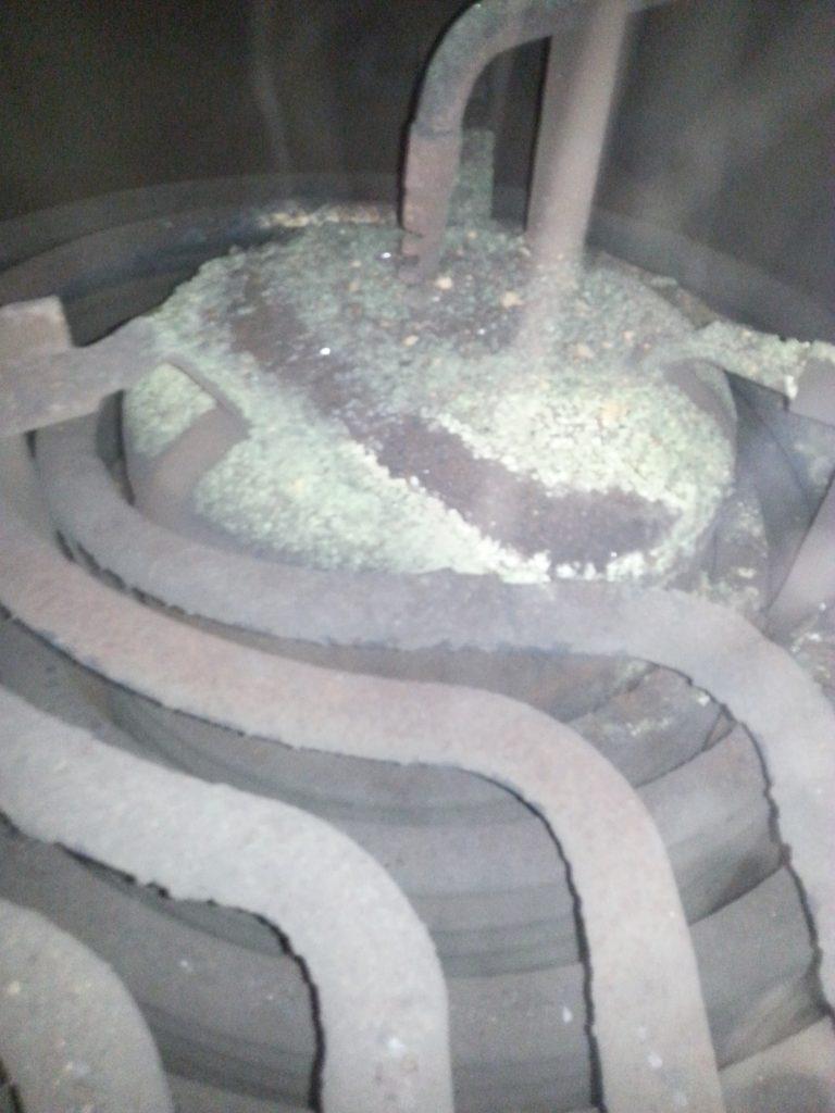 Before boiler treatment 6